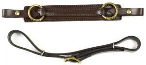 Cavemore straps Brown Brass