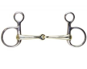Friendly Baucher snaffle single jointed
