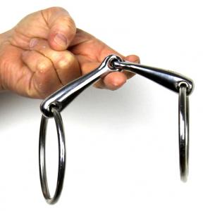 Friendly Bit Lock Up Ring Snaffle