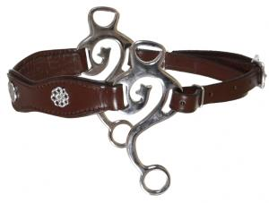 Kaupre's Hackamore academic Brown Stainless