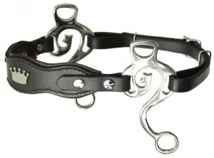 Kaupre's Hackamore Crown Brown Stainless