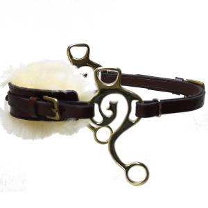 Kaupre's Hackamore  Black Brass Fur