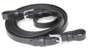 Tygel Klassisk 340cm svart/rostfritt