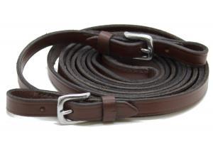 Tygel Klassisk 340cm brun/rostfritt