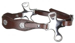 Short Shank Hackamore academic Brown Stainless