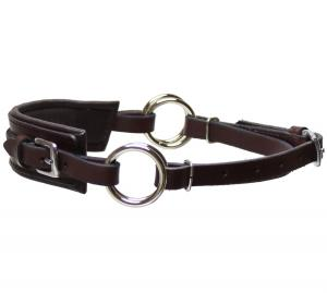 Sidepull Semi Neoprene Brown Stainless