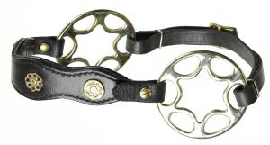 Star wheel hackamore academic Black Brass