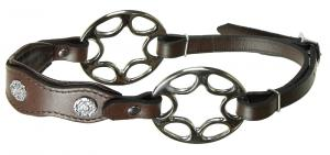 Star wheel hackamore academic Brown Stainless